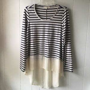 Lili's Closet striped top Anthropologie